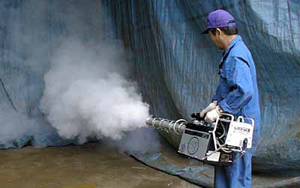 安全な殺虫剤と強力な噴霧器